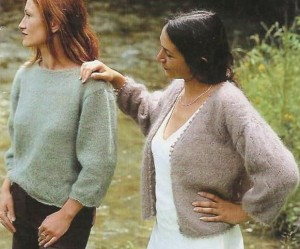 photo tricot modele tricoter pull 18
