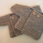 photo tricot patron tricot bébé facile 5