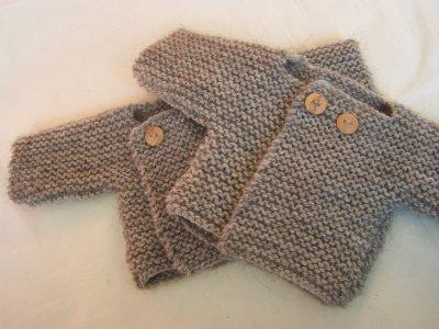 modèle tricot chaussette naissance