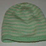 photo tricot patron tricot bonnet bébé 10