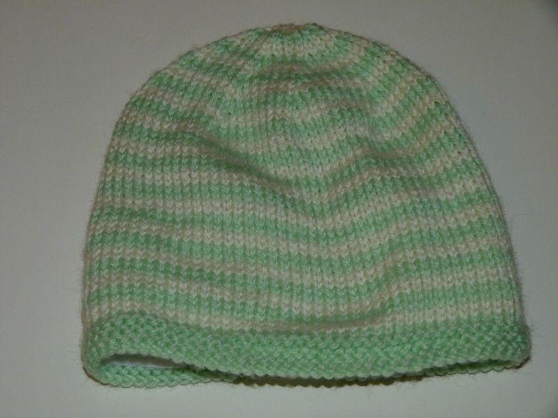 photo tricot patron tricot bonnet bébé 10