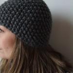 photo tricot patron tricot bonnet point de riz
