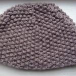 photo tricot patron tricot bonnet point de riz 18