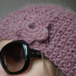 photo tricot patron tricot bonnet point de riz 9