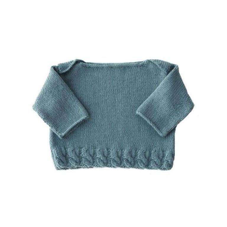 photo tricot patron tricot veste bébé 3