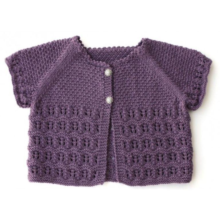 patron tricot veste