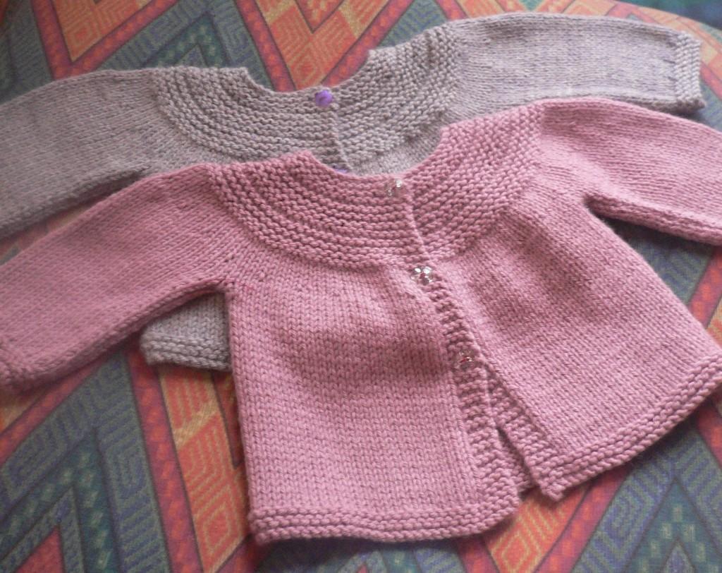 tricoter veste bebe