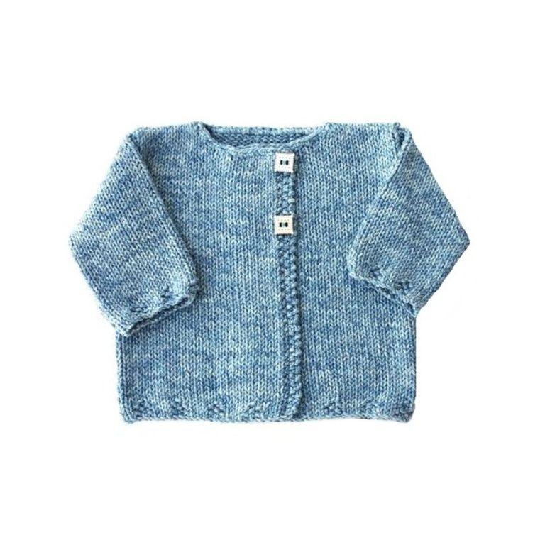 photo tricot patron tricot veste bébé