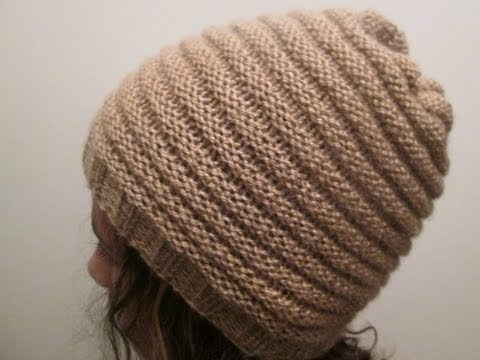 Mod le tricot bonnet a pompon homme - Modele mitaine tricot facile ...