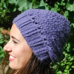 photo tricot tricot modele bonnet facile 2