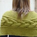 photo tricot tricot modele de torsade 15