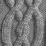 photo tricot tricot modele de torsade