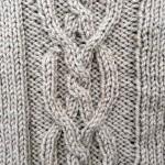 photo tricot tricot modele de torsade 16