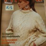 photo tricot tricot modele de torsade 17