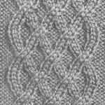 photo tricot tricot modele de torsade 4