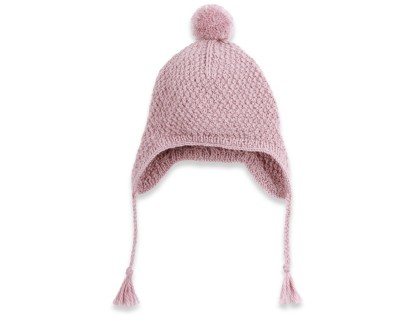 photo tricot tricoter un bonnet en laine pompon 11