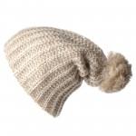 photo tricot tricoter un bonnet en laine pompon 15