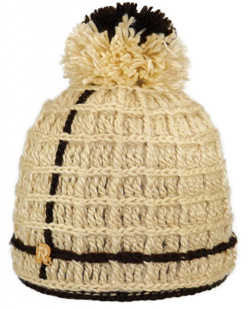photo tricot tricoter un bonnet en laine pompon 6