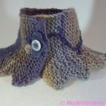 photo tricot modèle tricoté tour de cou main 5