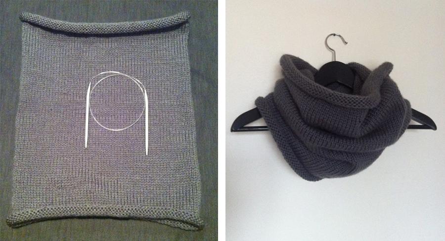 Photo tricot mod le tricot aiguille circulaire 8 - Modele tricot aiguille circulaire ...