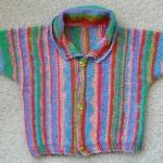 photo tricot modèle tricot bébé facile gratuit 12