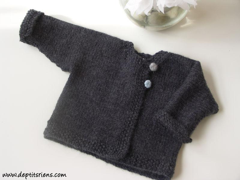 photo tricot modèle tricot bébé garçon gratuit 3