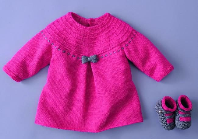 photo tricot modèle tricot bébé gratuit phildar 10