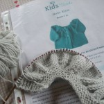 photo tricot modèle tricot bébé top down 16