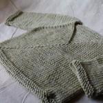photo tricot modèle tricot bébé top down 2