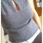 photo tricot modèle tricot bébé top down 5