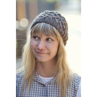photo tricot modèle tricot béret femme 11