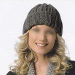 photo tricot modèle tricot béret femme 12