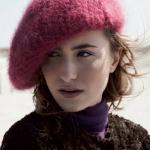 photo tricot modèle tricot béret femme 14