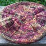 photo tricot modèle tricot béret femme 16