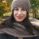 photo tricot modèle tricot béret femme 9