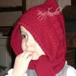 photo tricot modèle tricot bonnet écharpe femme 10
