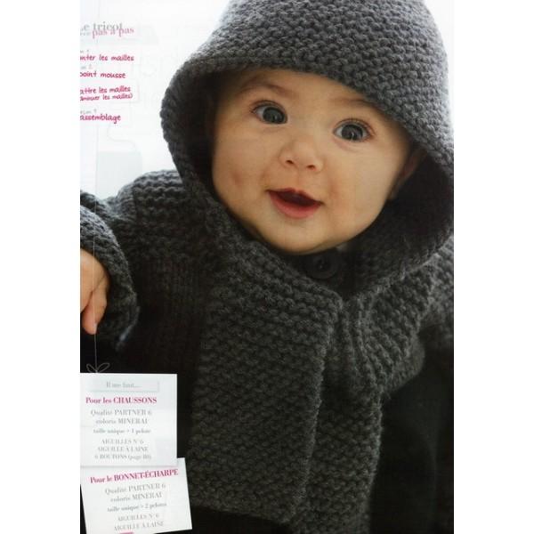 sélectionner pour plus récent style attrayant ordre modele tricot bonnet echarpe bebe
