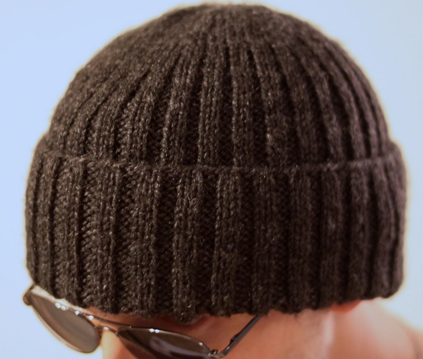 photo tricot modèle tricot bonnet homme 13