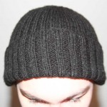 photo tricot modèle tricot bonnet homme