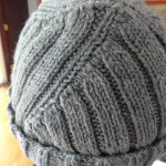 photo tricot modèle tricot bonnet homme 16