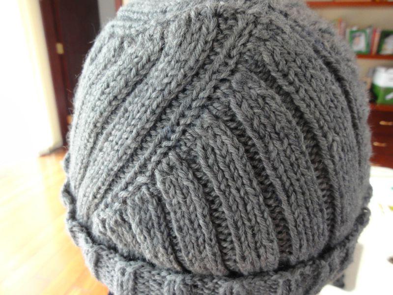 photo tricot modèle tricot bonnet homme 16