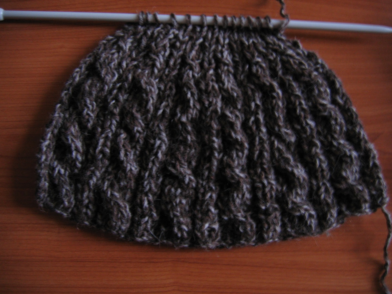 Patron tricot tuque facile - Modele de bonnet a tricoter facile ...