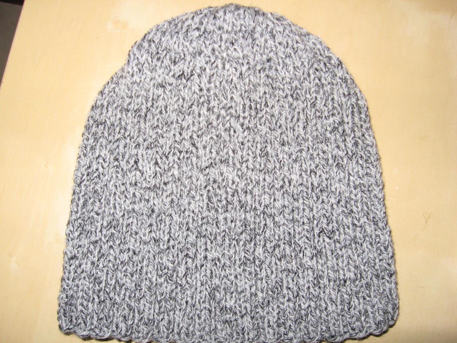 photo tricot modèle tricot bonnet homme 3