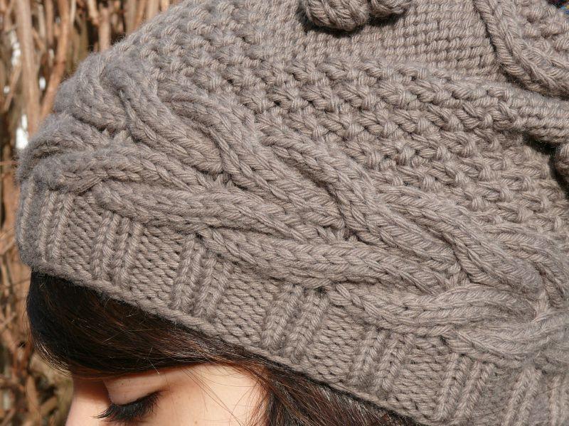 photo tricot mod le tricot bonnet homme avec pompon 13. Black Bedroom Furniture Sets. Home Design Ideas