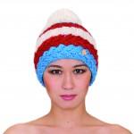 photo tricot modèle tricot bonnet homme avec pompon 18