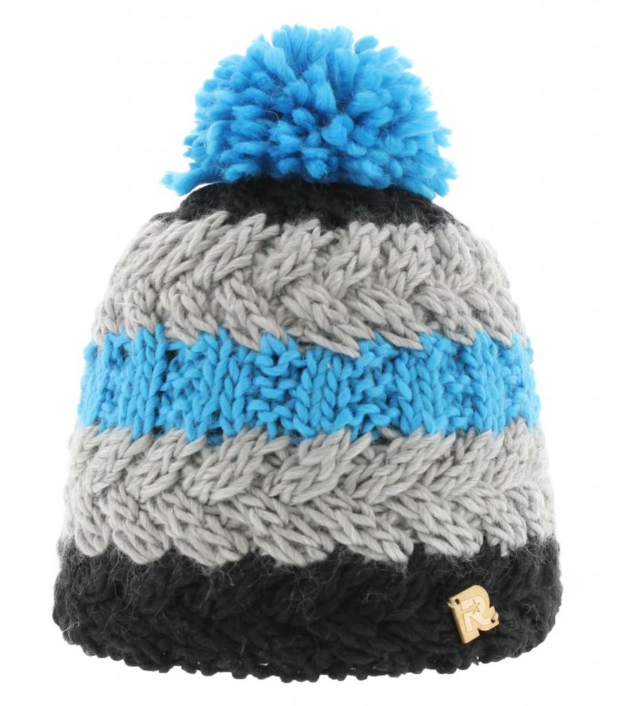 photo tricot modèle tricot bonnet homme avec pompon 6