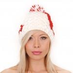 photo tricot modèle tricot bonnet homme avec pompon 7