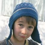 photo tricot modèle tricot bonnet homme péruvien 10