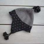 photo tricot modèle tricot bonnet péruvien 13