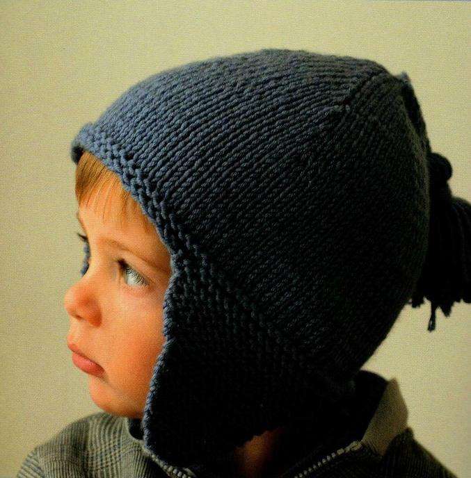 modele tricot bonnet peruvien 4 ans